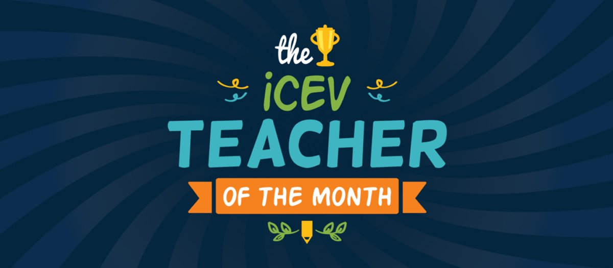 iCEV Teacher of the Month